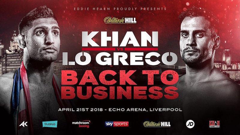 Amir Khan vs. Phil Lo Greco
