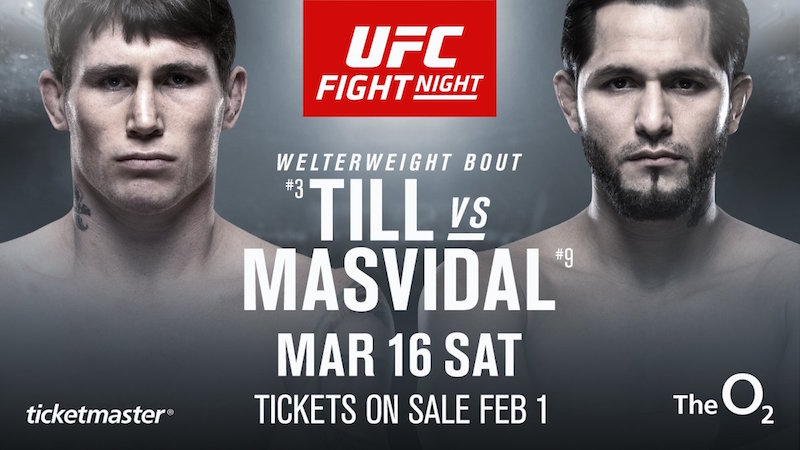 UFC Fight Night London: Till vs. Masvidal Preview