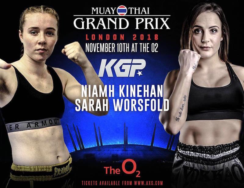 KGP 15 : Niamh Kineham vs. Sarah Worsfold Preview