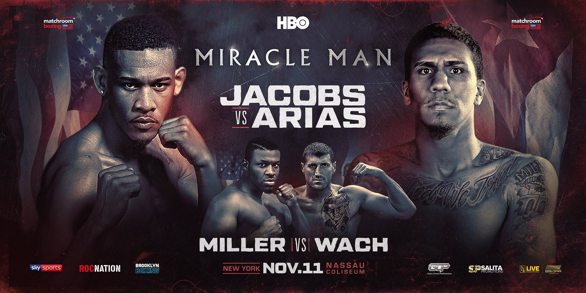 Jacobs vs. Arias Press Conference