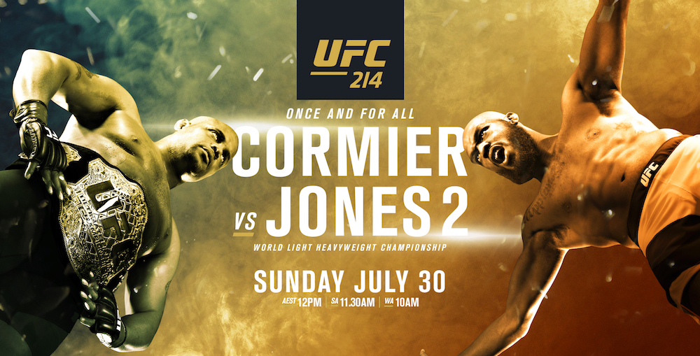 UFC 214: Jones Regains Title