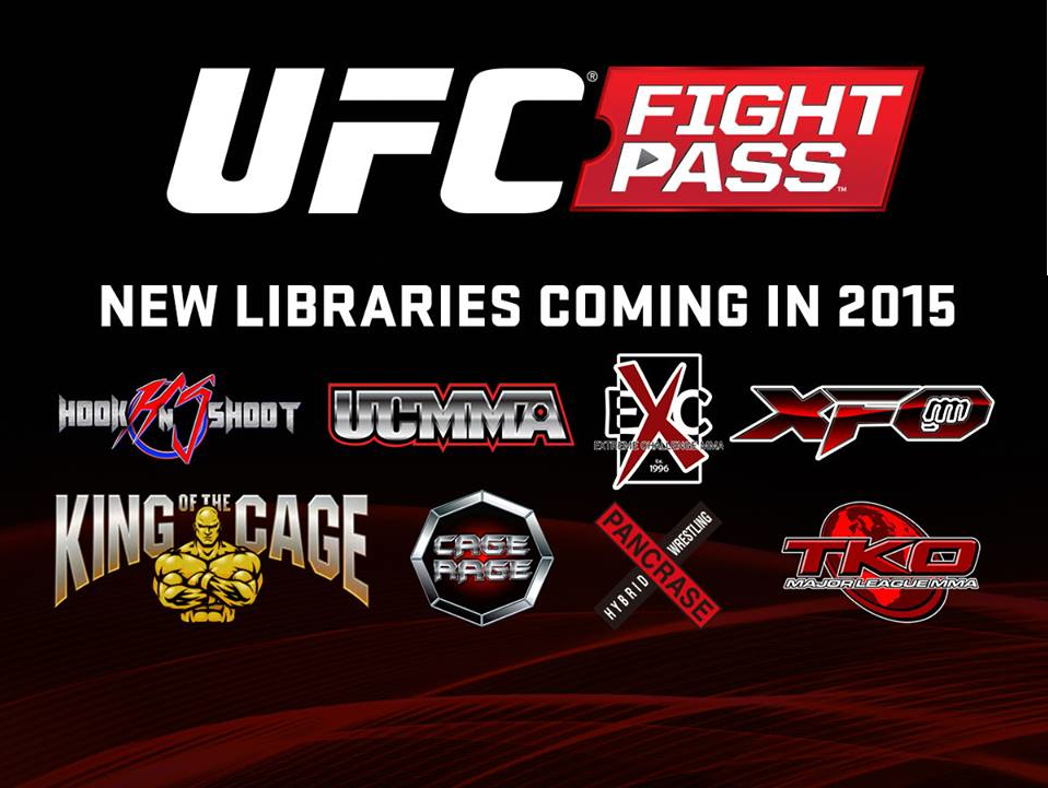 UFC Fight Pass 2015 Update