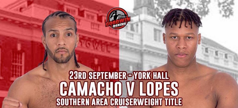 Date with Destiny: Camacho vs. Lopes set for 23rd September