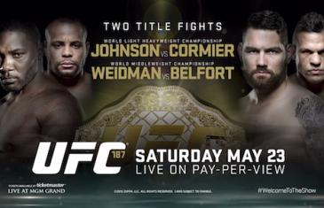 UFC 187 Fight Card