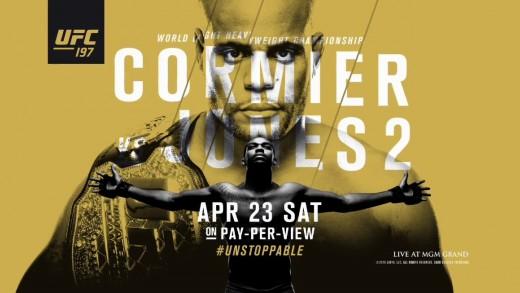 UFC 197 Card