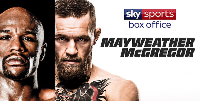 Watch Mayweather vs. McGregor on Sky Sports Box Office