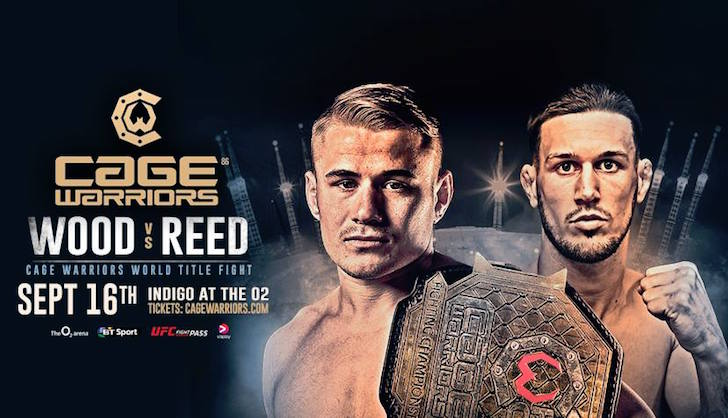 Cage Warriors 86 Fight Card