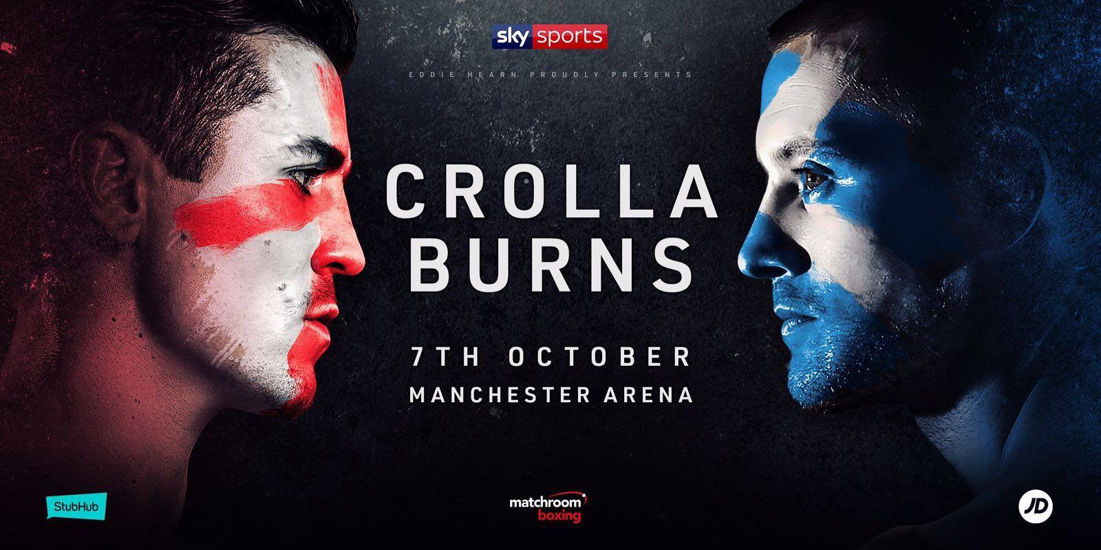 Crolla vs. Burns Set For 7th October