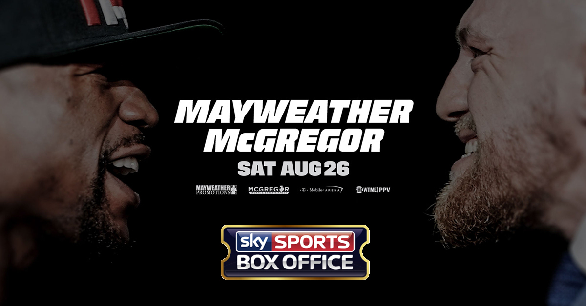 Mayweather vs. McGregor Undercard Announced