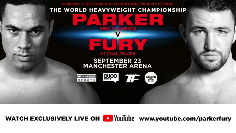 Joseph Parker vs. Hughie Fury Press Conference