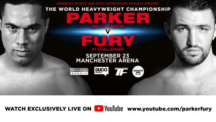 Joseph Parker vs. Hughie Fury Press Conference