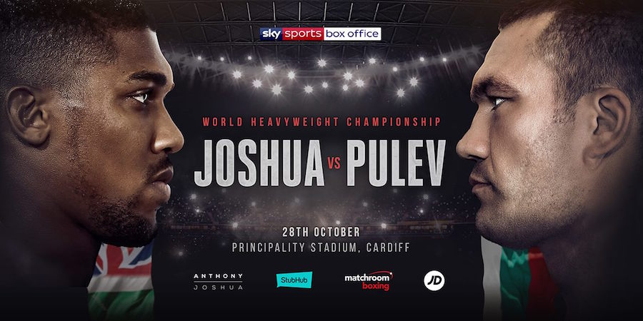 Joshua vs. Pulev Set For 28th October