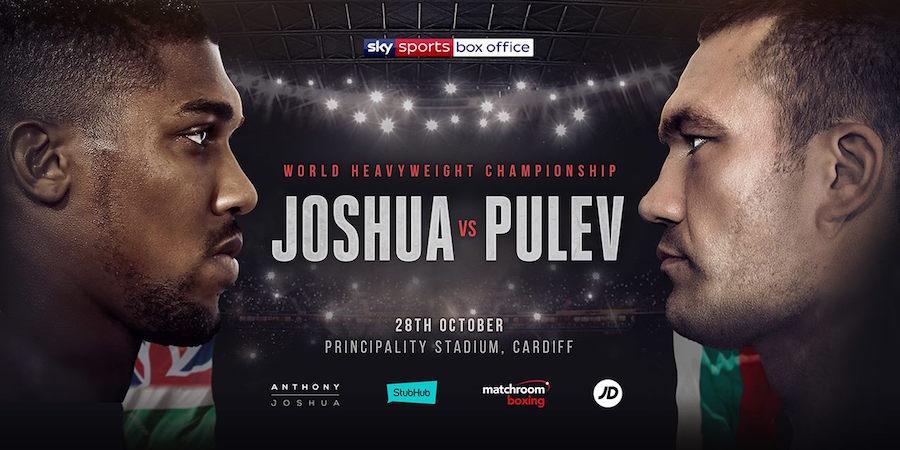 Joshua vs. Pulev Set For 28th October