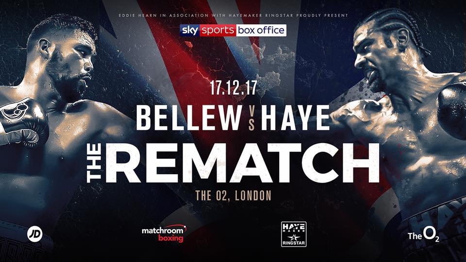 Bellew vs. Haye 2 Confirmed