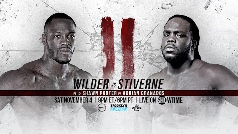 Wilder destroys Stiverne in Rematch