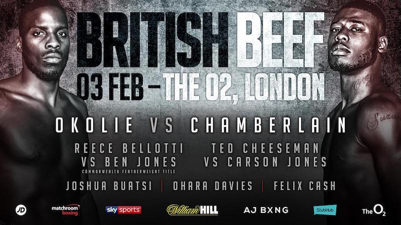 British Beef: Okolie vs. Chamberlain