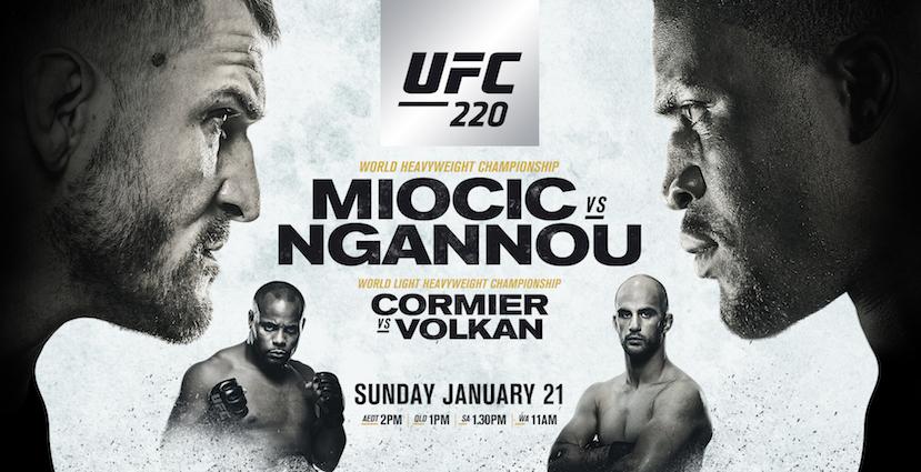 UFC 220 Results: Miocic Retains Title