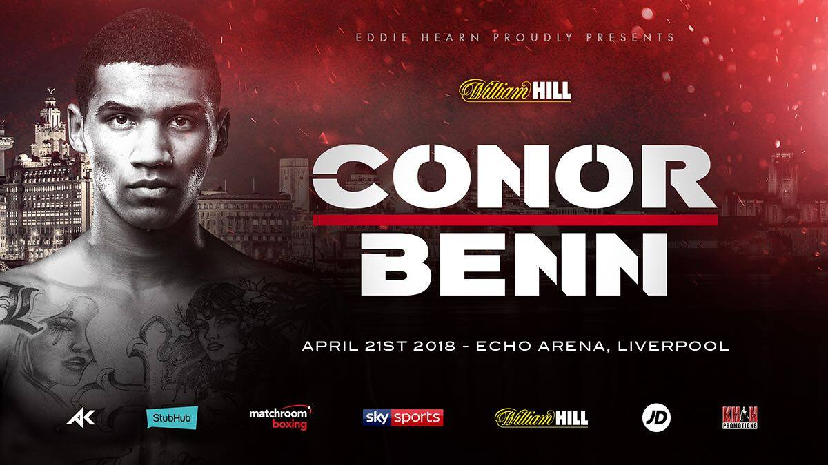 Connor Benn added to Khan vs. Lo Greco undercard