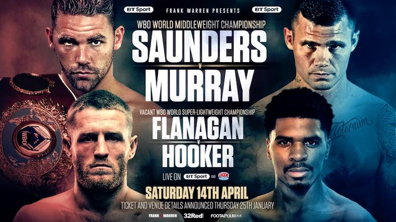 Saunders vs. Murray Press Conference