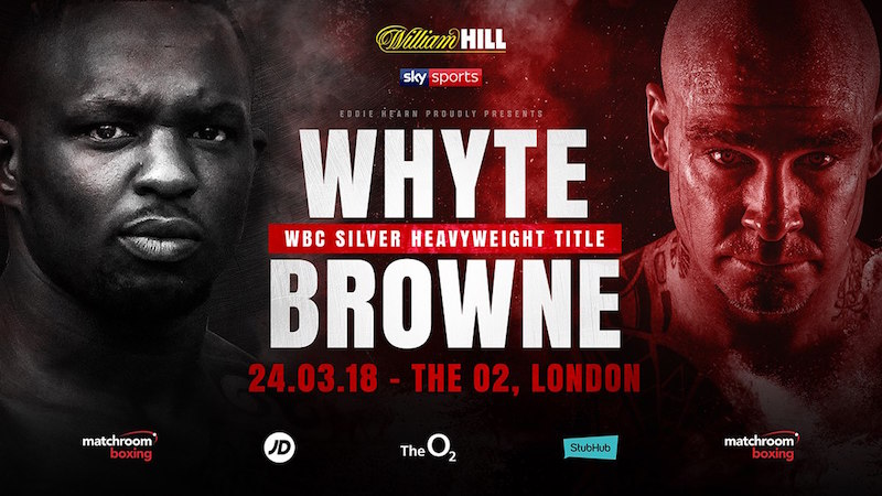 Whyte vs. Browne Scheduled For 24th March