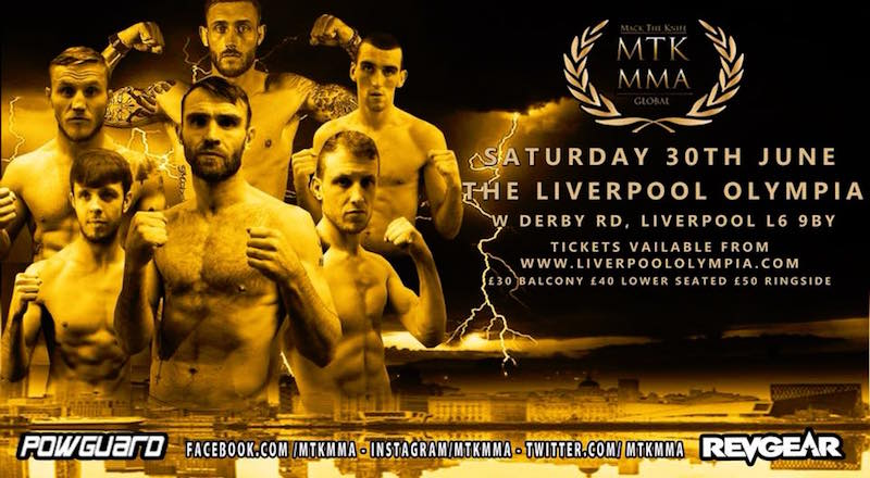 MTK Global MMA at The Liverpool Olympia