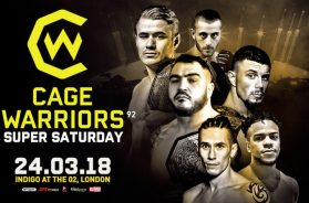 Cage Warriors 92