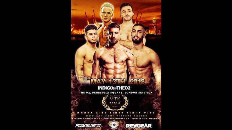 MTK Global MMA Card Details