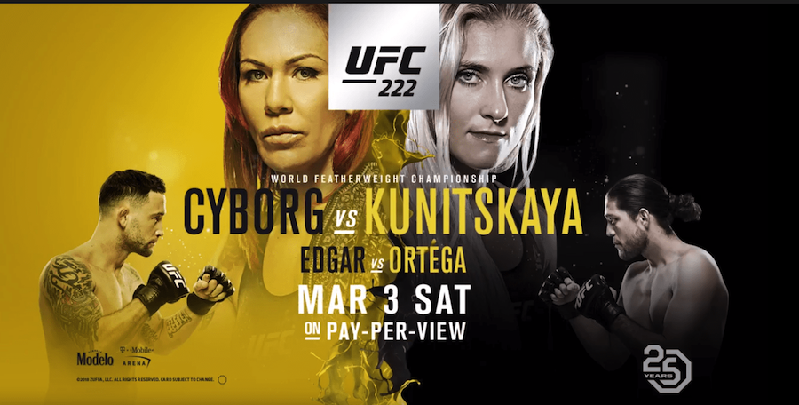 UFC 222 Results