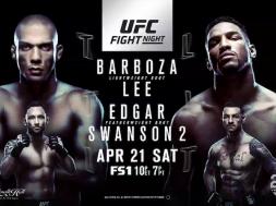 UFCBarboza vs. Lee