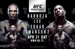 UFCBarboza vs. Lee