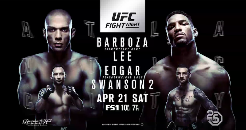UFC Fight Night: Barboza vs. Lee Results