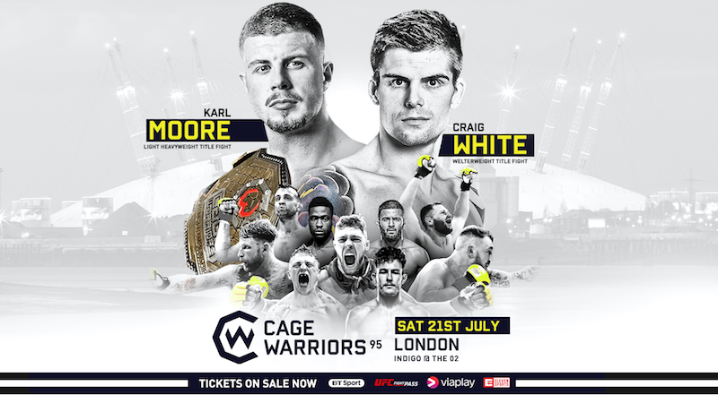 Cage Warriors 95 Details