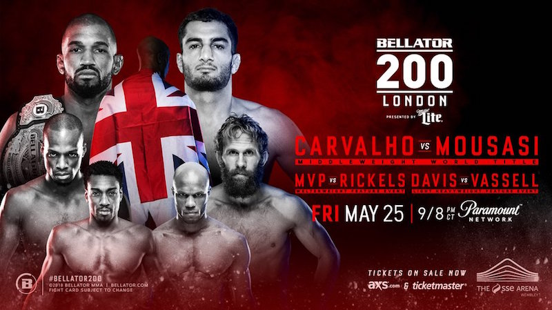 Bellator 200 Fight Card