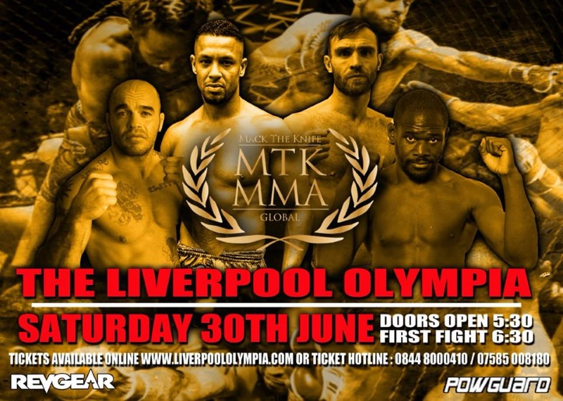Tommy King vs. Mick Stanton headlines MTK Global MMA 2