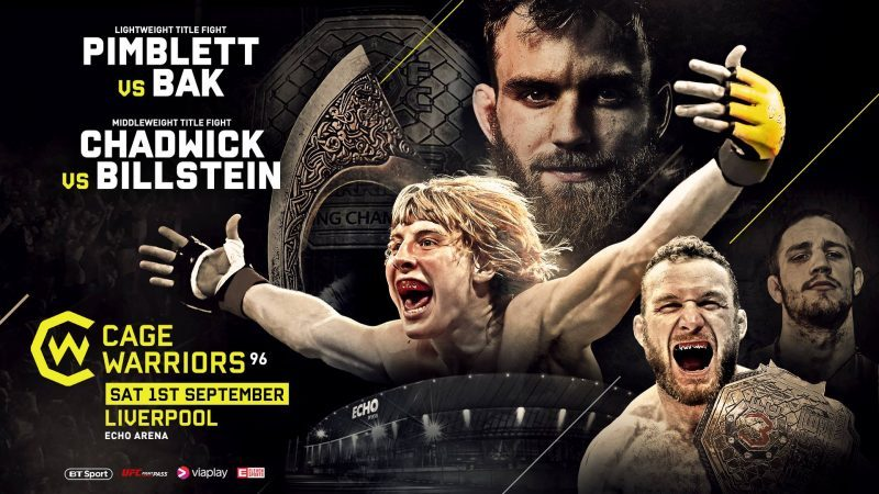 Cage Warriors 96: Lightweight and Middleweight Title Fights