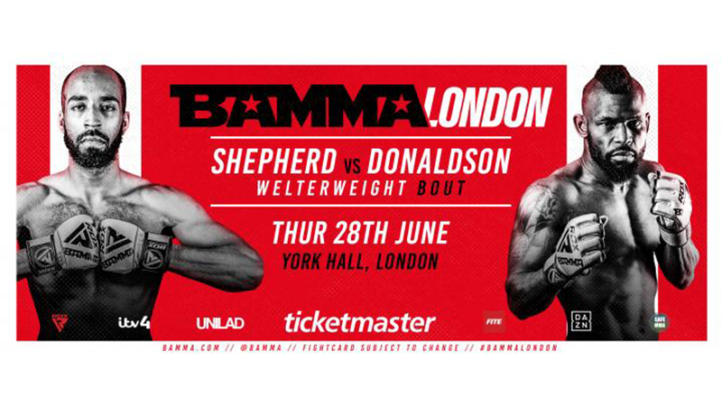 BAMMA Fight Night London: Shepherd vs. Donaldson