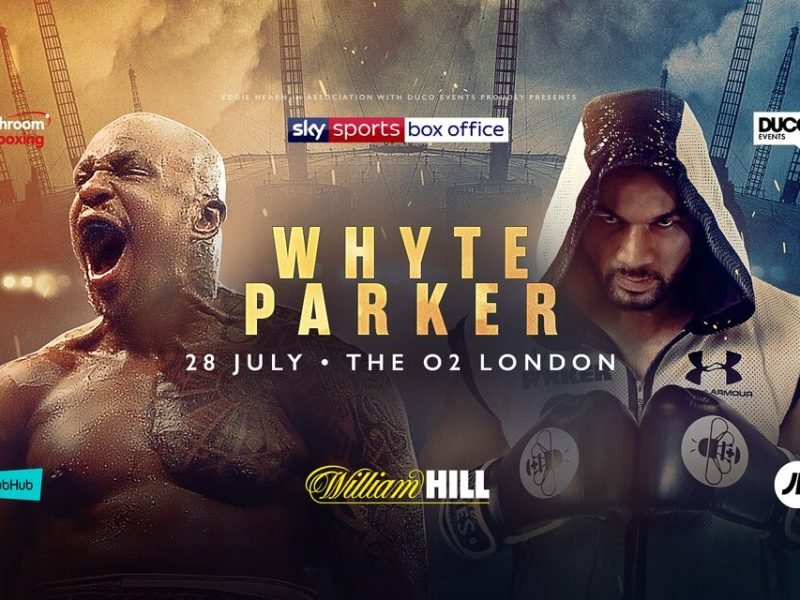 Whyte vs. Parker Set For Saturday 28th July