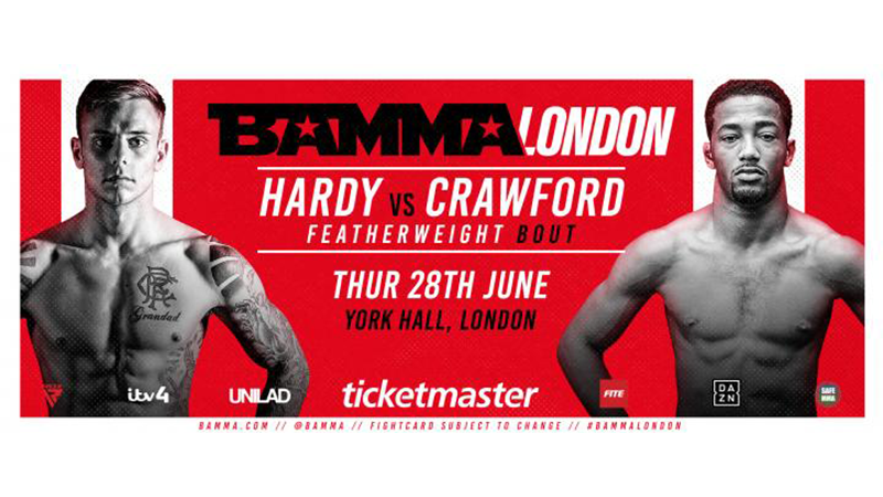 BAMMA Fight Night London: Hardy vs. Crawford