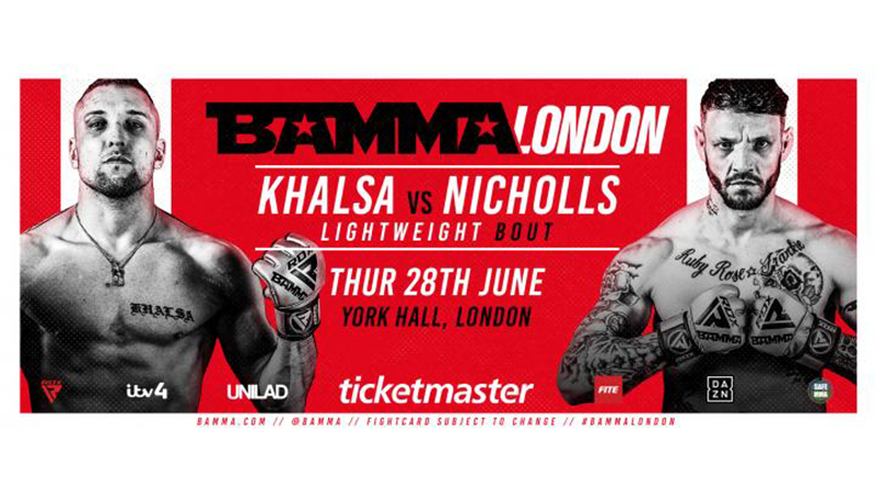 BAMMA Fight Night London: Khalsa vs. Nicholls