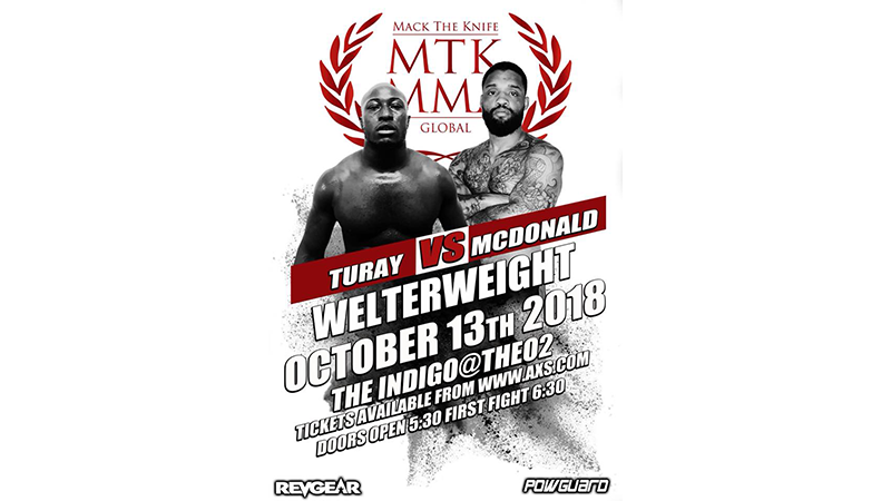 MTK Global MMA London: Turay vs. McDonald