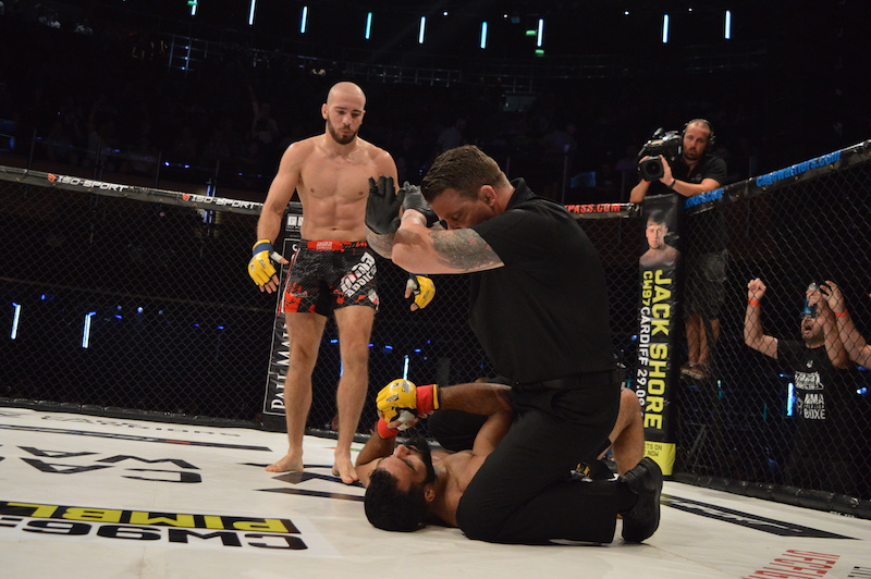 Cage Warriors 95 Results: Stefano Paterno captures the welterweight title
