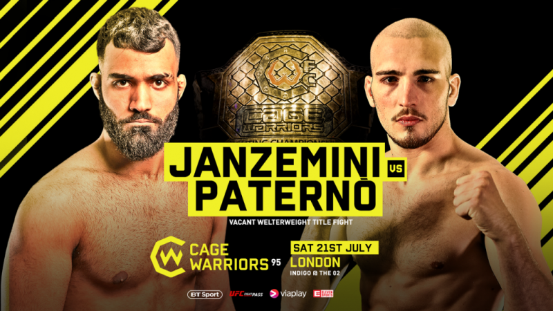 Cage Warriors 95 Preview