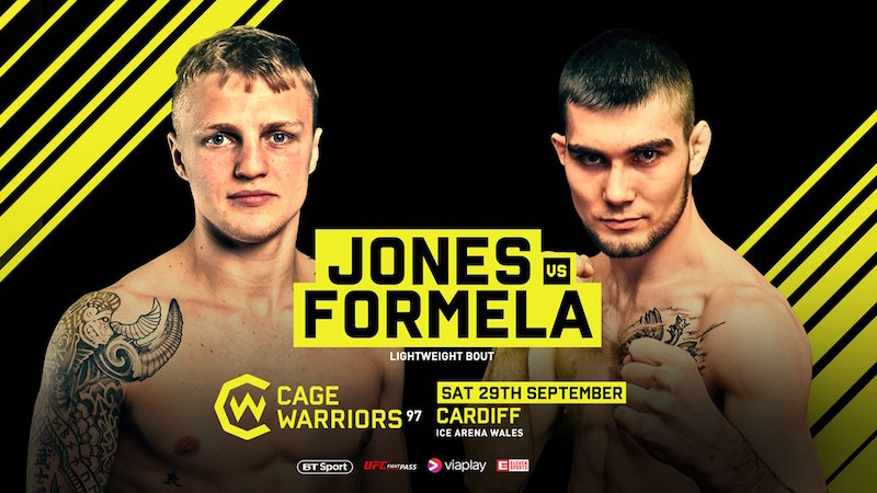 Cage Warriors 97: Jones vs. Formela Preview