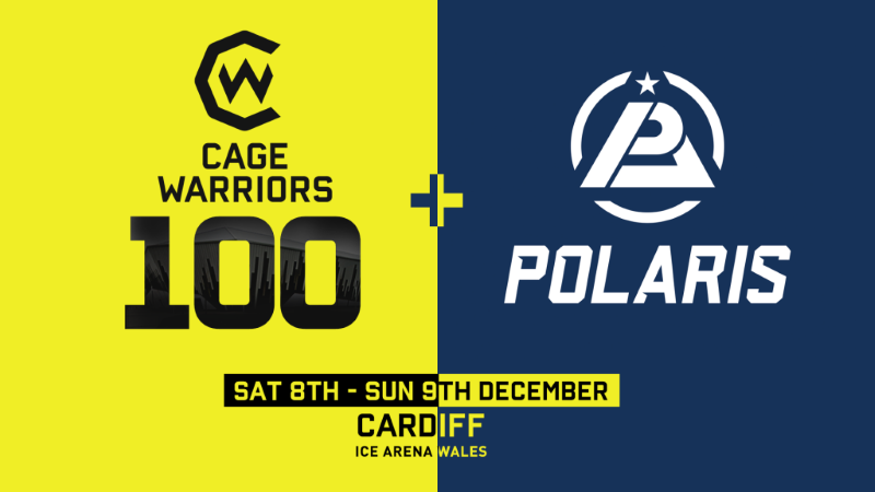 Cage Warriors 100 & Partnership With Polaris Announced
