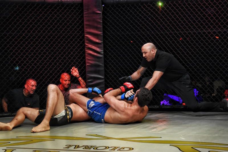 MTK MMA London: Dan Vinni Captures MTK MMA Middleweight Title