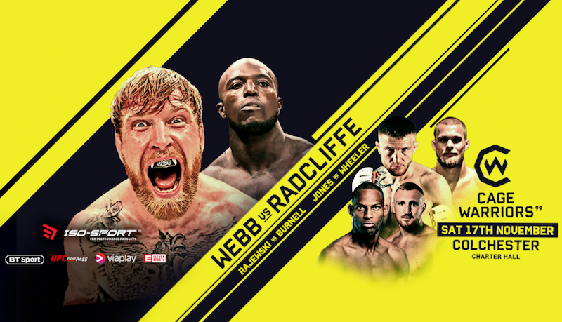 Cage Warriors 99 Results