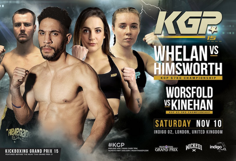 Kickboxing Grand Prix 15 Fight Card