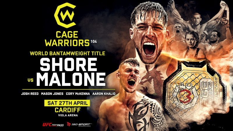 Cage Warriors 104 Results: Shore retains title against Malone