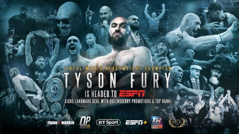 Tyson Fury signs deal co-promotional with Queensberry Promotions and Top Rank