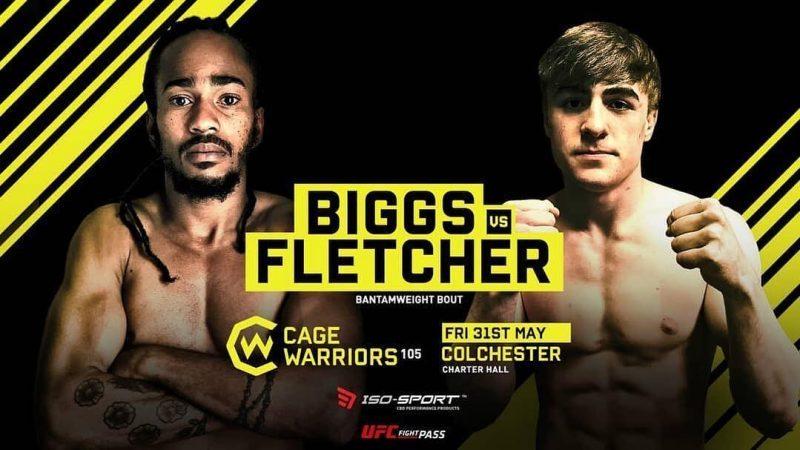 Cage Warriors 105: Rico Biggs vs. Nathan Fletcher Preview